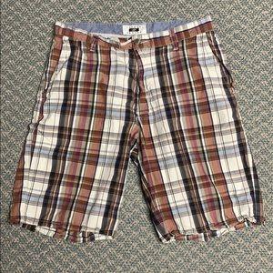 Joseph Abboud plaid shorts